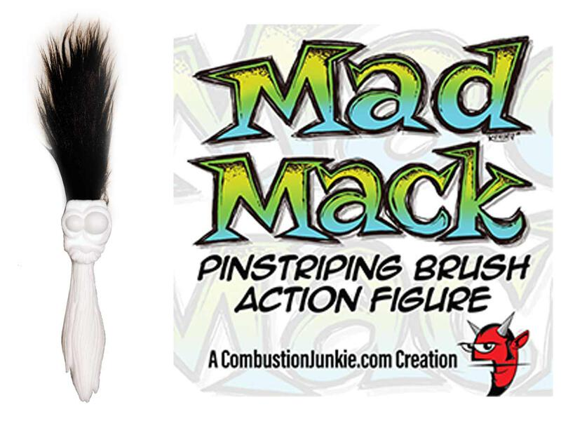 Mad Mack - Pinsel Action Figur