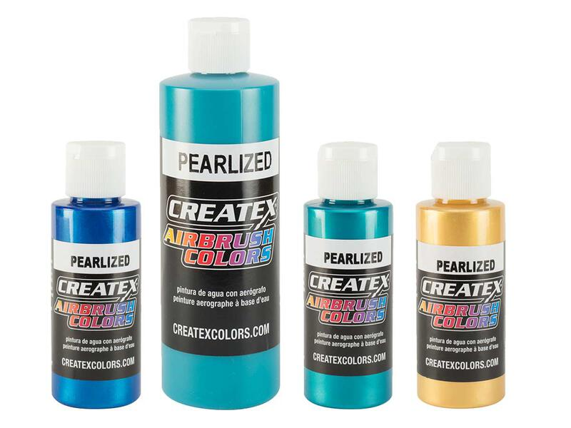 Createx Airbrush Colors - Pearl Effect