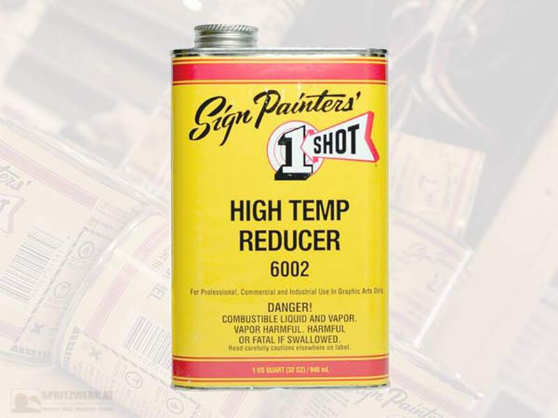 1 Shot - Reducer 6002 - High Temp - 946 ml