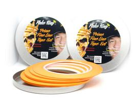 Flake King - Fine Line Tape - Orange im Set