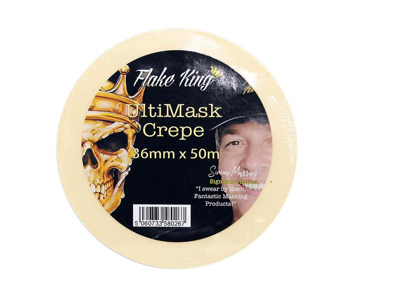 Flake King - Ultimask Crepe Tape - 36 mm