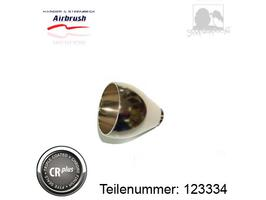 Becher 5 ml aus Metall - chrom