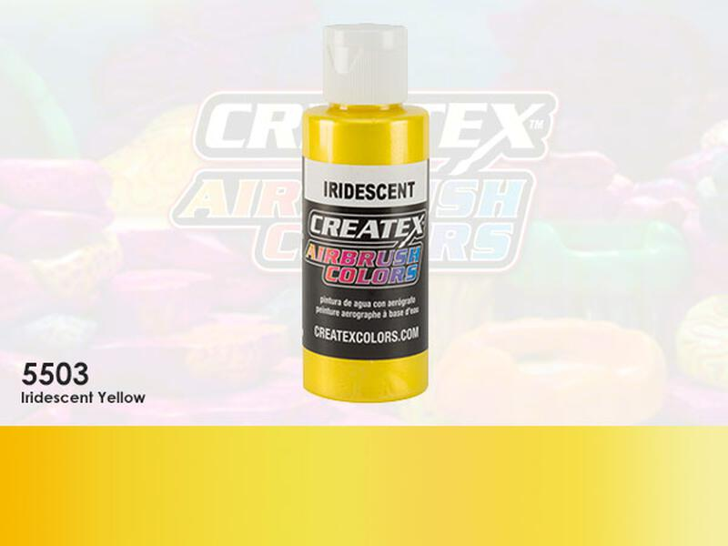 Createx Airbrush Colors im Farbton 5503 Iridescent Yellow