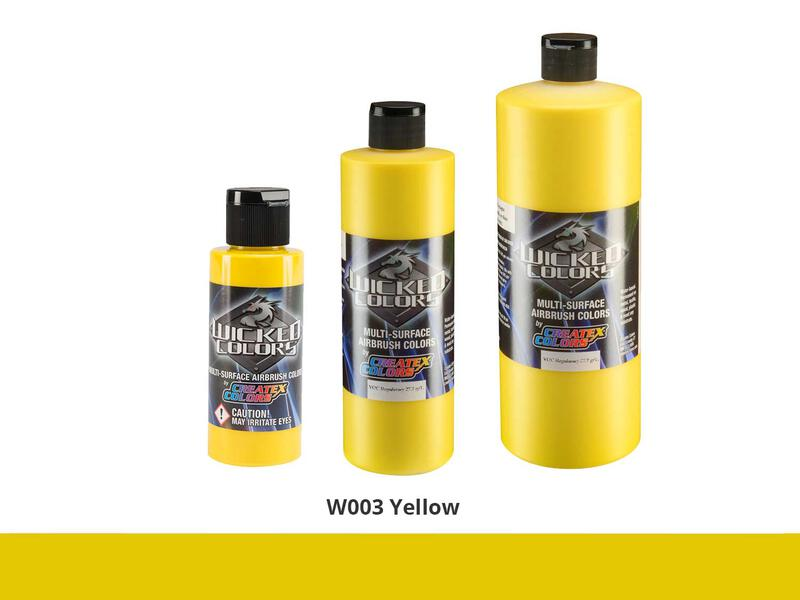 Wicked Colors - W003 Yellow - 60 ml