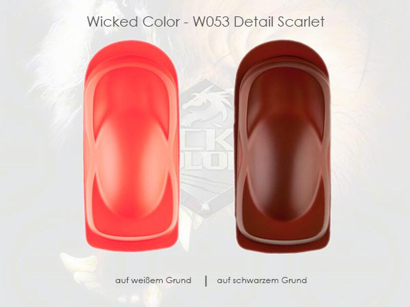 Wicked Colors - W053 Detail Scarlet - 60 ml