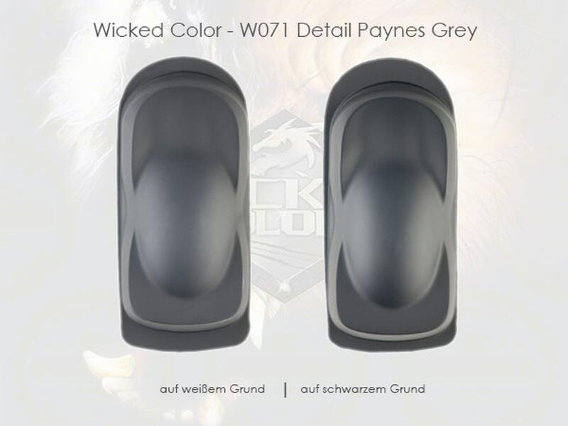 Wicked Colors - W071 Detail Paynes Grey - 60 ml