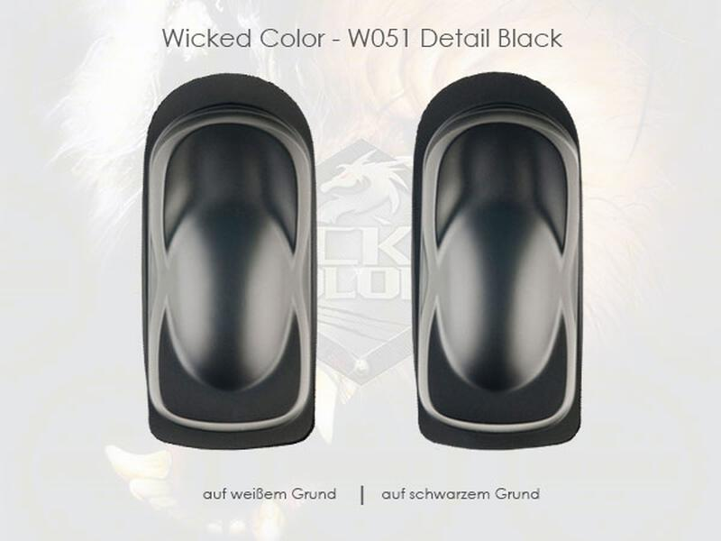 Wicked Colors - W051 Detail Black - 480 ml