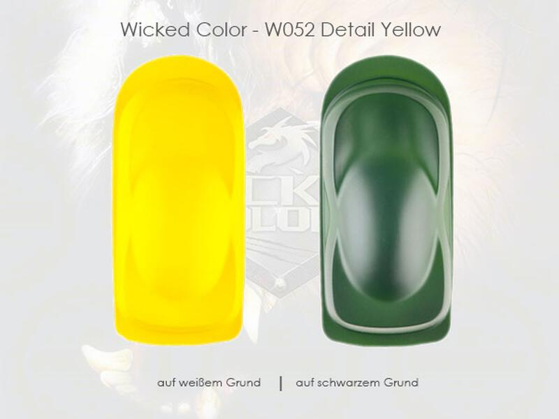 Wicked Colors - W052 Detail Yellow - 480 ml