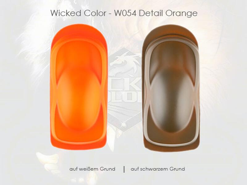 Wicked Colors - W054 Detail Orange - 480 ml