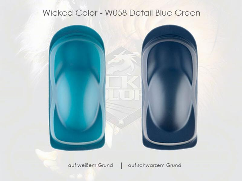 Wicked Colors - W058 Detail Blue Green - 480 ml