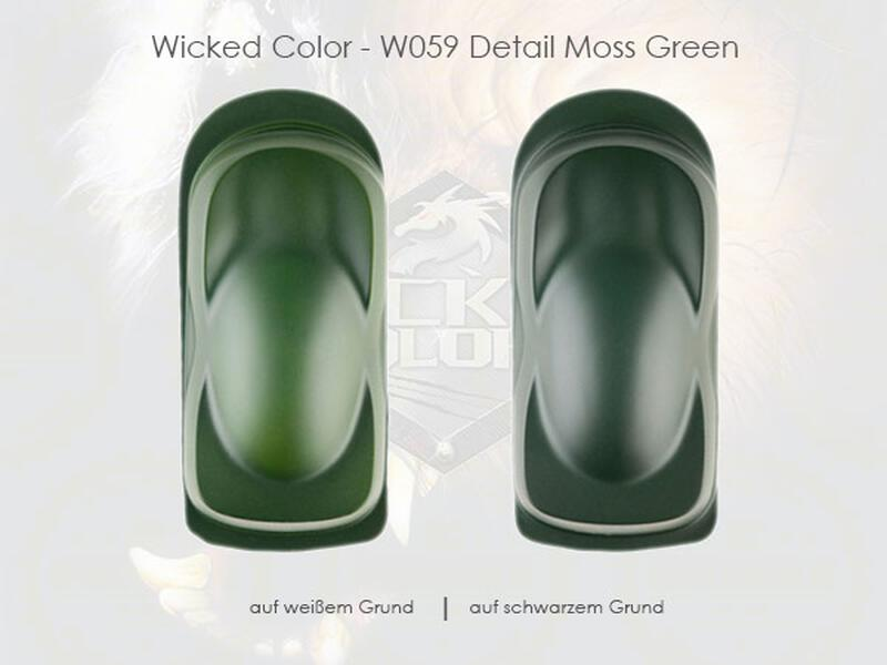 Wicked Colors - W059 Detail Moss Green - 480 ml