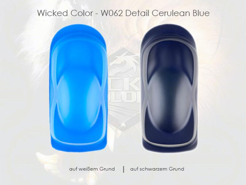 Wicked Colors - W062 Detail Cerulean Blue - 480 ml