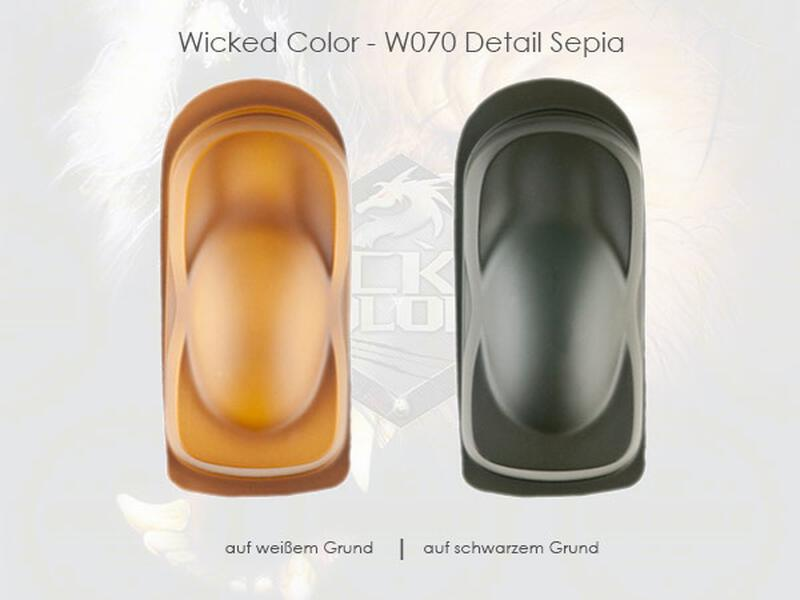 Wicked Colors - W070 Detail Sepia - 480 ml
