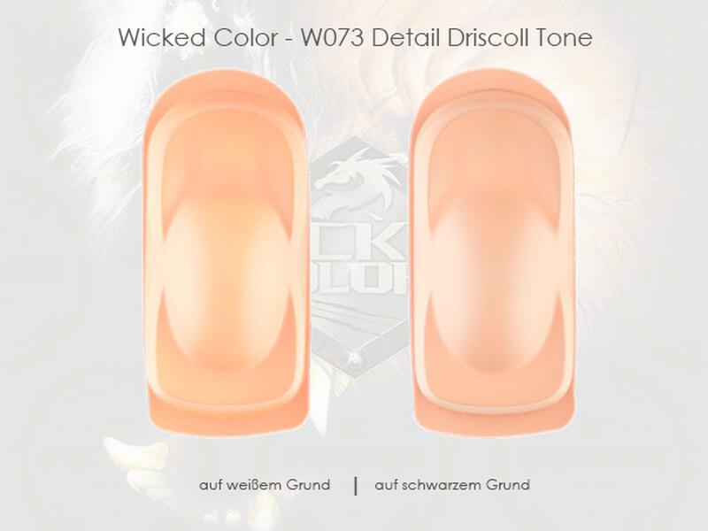 Wicked Colors - W073 Detail Driscoll Tone - 480 ml