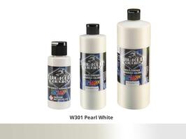 Wicked Color Airbrushfarbe im Farbton W301 Pearl-White.