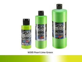 Wicked Color Airbrushfarbe im Farbton W305 Pearl-Lime-Green.