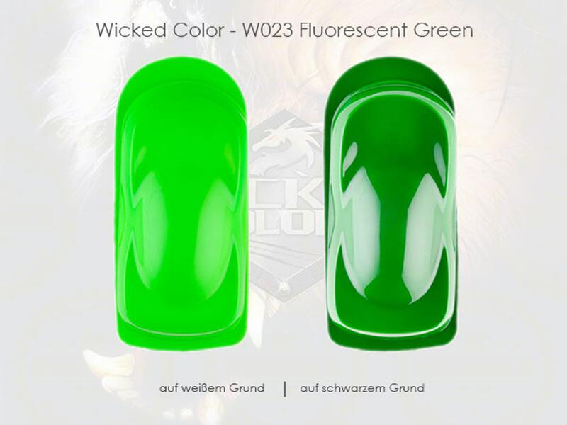 Wicked Colors - W023 Fluorescent Green - 60 ml