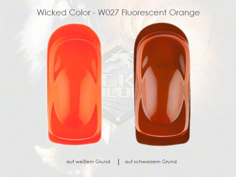 Wicked Colors - W027 Fluorescent Orange - 60 ml