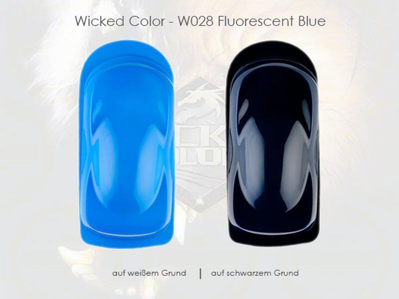Wicked Colors - W028 Fluorescent Blue - 60 ml