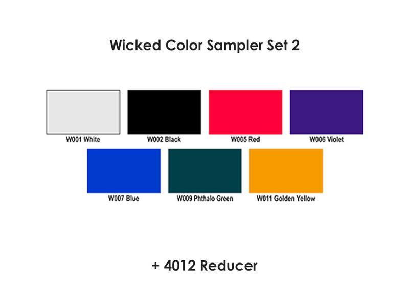 Wicked Colors - W102 Primary Set 2
