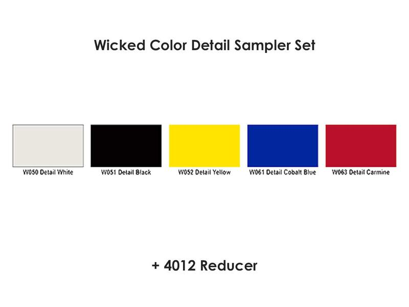 Wicked Colors - W110 Detail Sampler Set