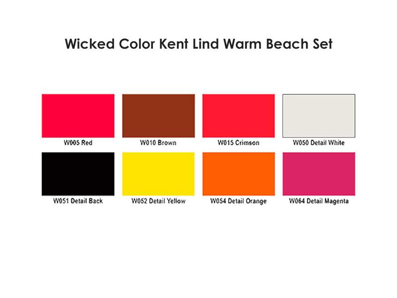 Wicked Colors - W113 Kent Lind Warm Set