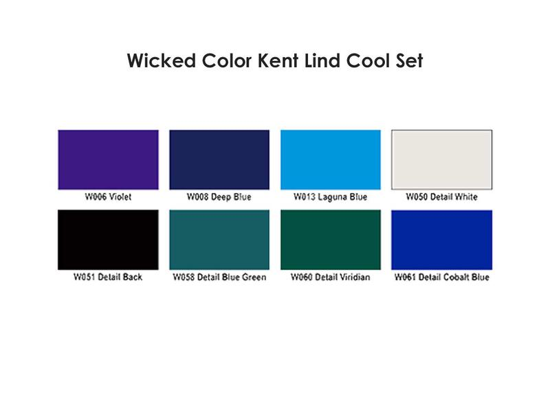 Wicked Colors - W114 Kent Lind Cool Set
