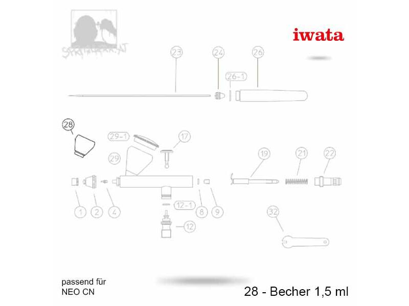 28 - Becher 1,5 ml - CN