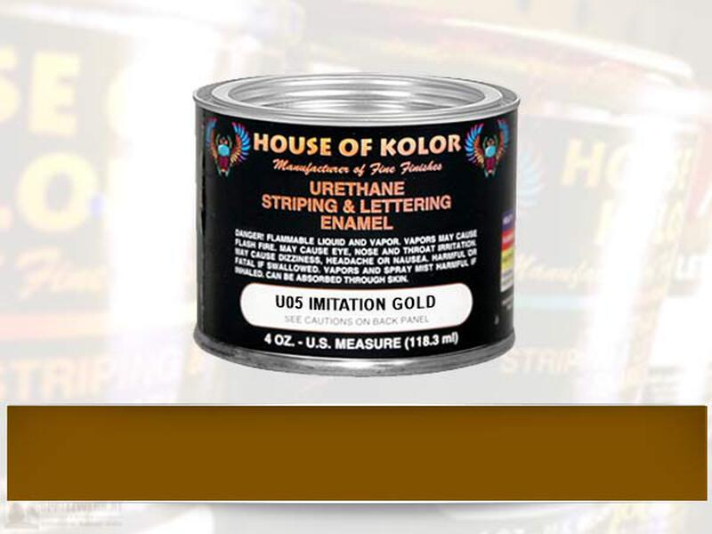 HOK Striping Color - U05 Imitation Gold - 118 ml