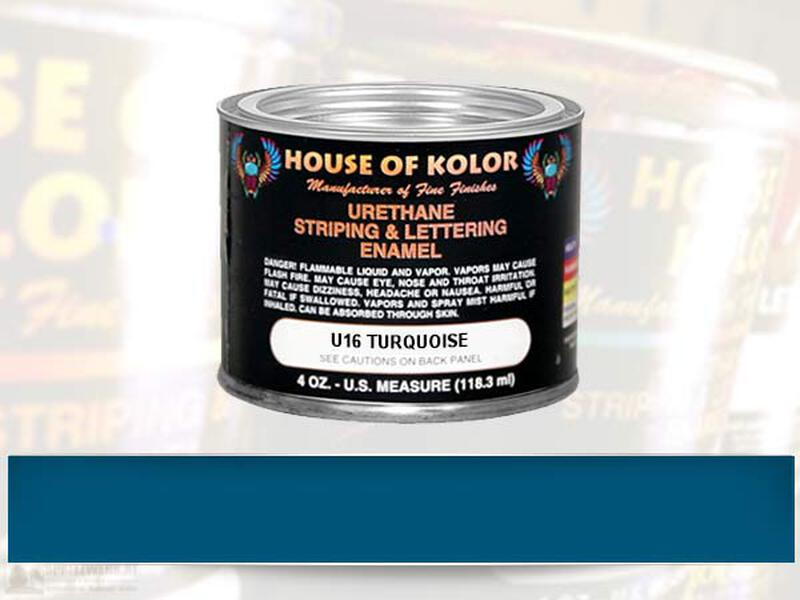 HOK Striping Color - U16 Turquoise - 118 ml