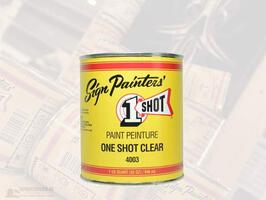 1 Shot - Sign Restoring Clear 4003 - 946 ml
