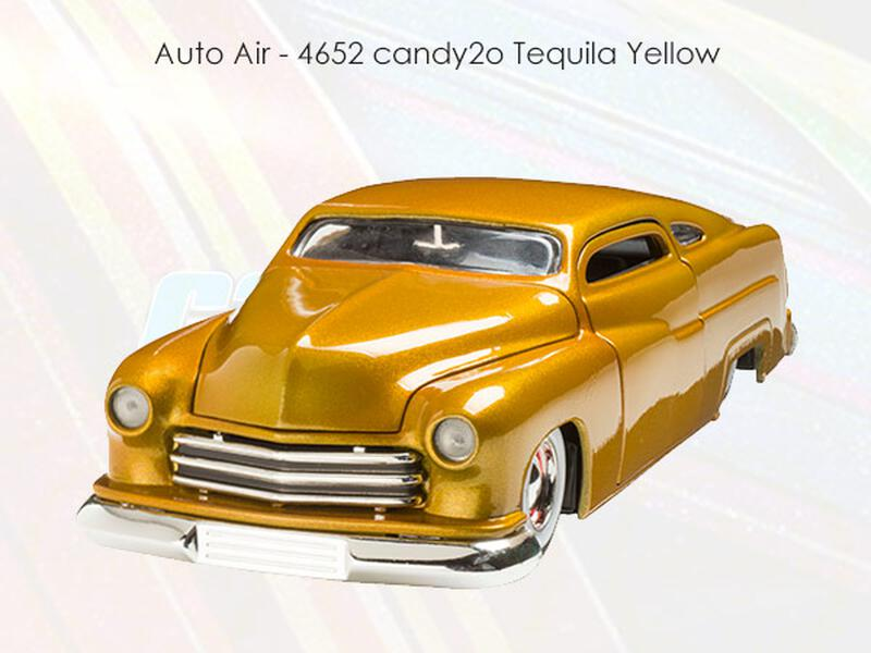Auto Air - Candy2o - 4652 Tequila Yellow - 480 ml