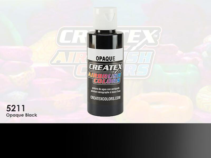 Createx Colors - 5211 Opaque Black - 60 ml