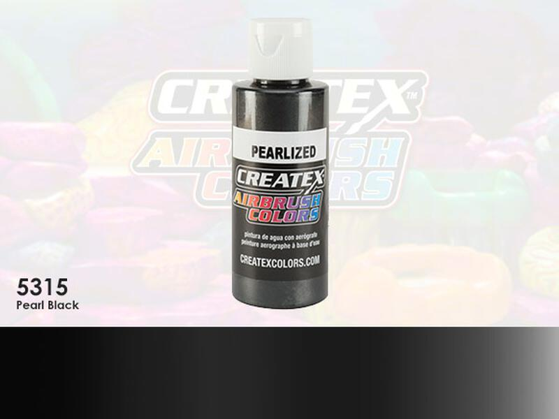 Createx Airbrush Colors im Farbton 5315 Pearl Black