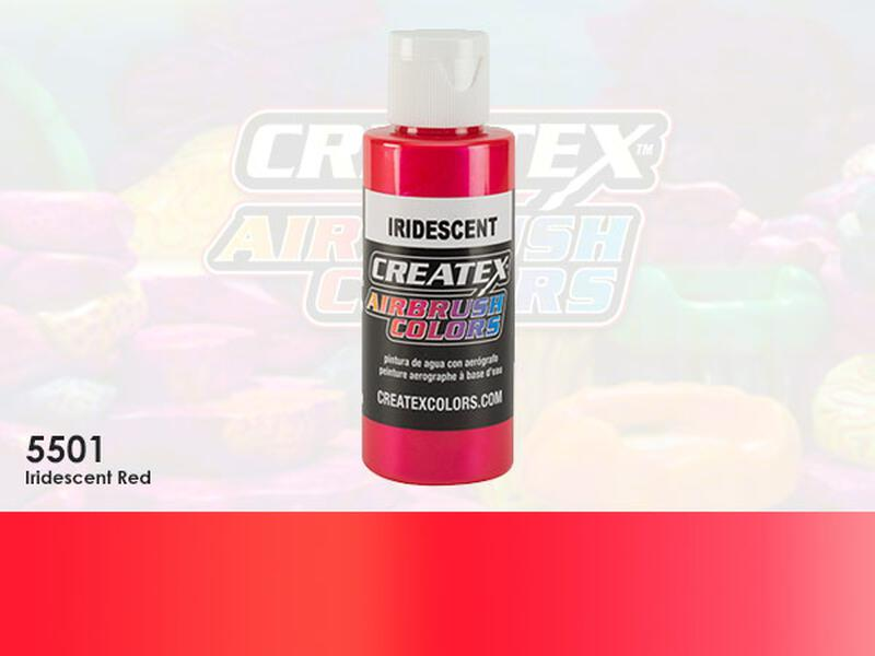 Createx Airbrush Colors im Farbton 5501 Iridescent Red