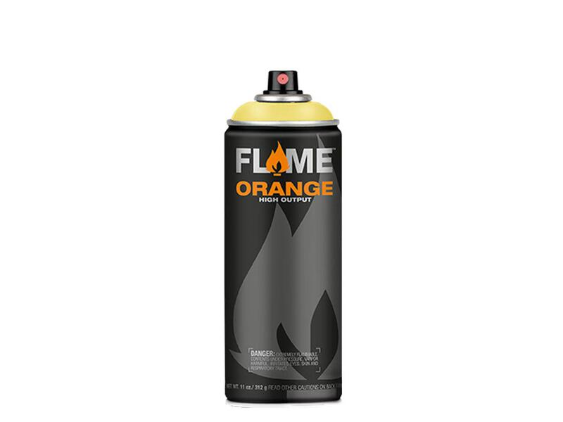 Molotow Flame Orange Spraydose - Farbton vanille