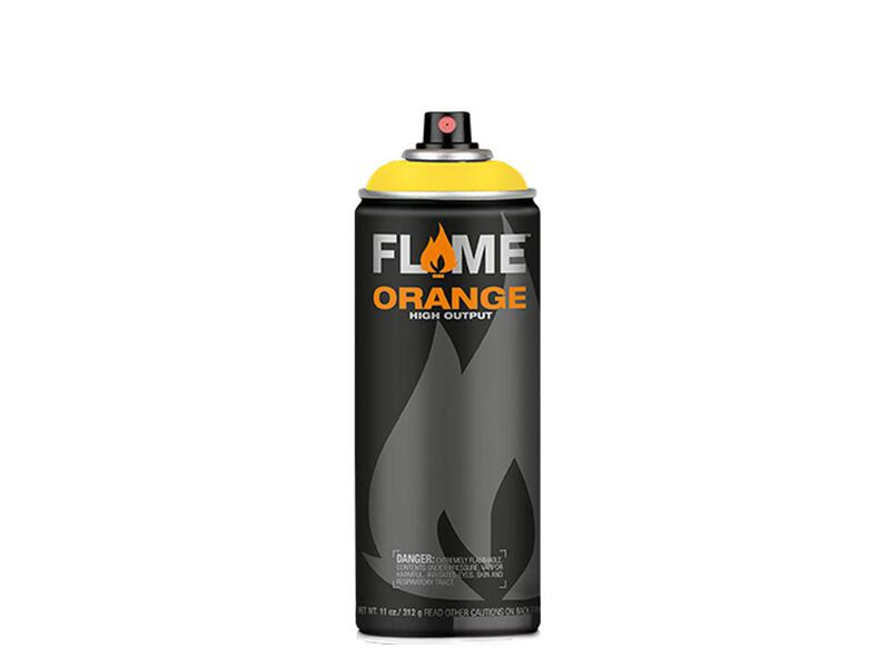 Molotow Flame Orange Spraydose - Farbton zinkgelb