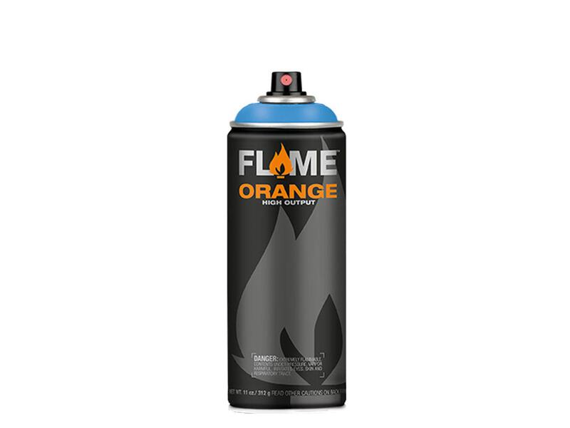 Molotow Flame Orange Spraydose - Farbton lichtblau