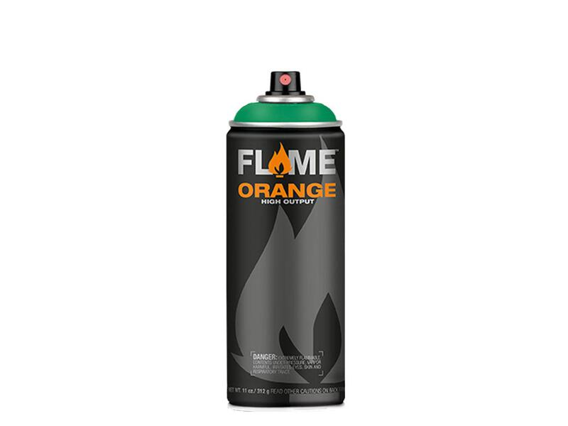 Molotow Flame Orange Spraydose - Farbton türkis