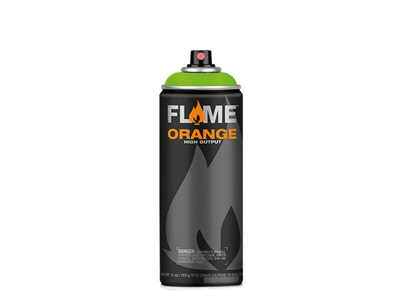 Molotow Flame Orange Spraydose - Farbton kiwi