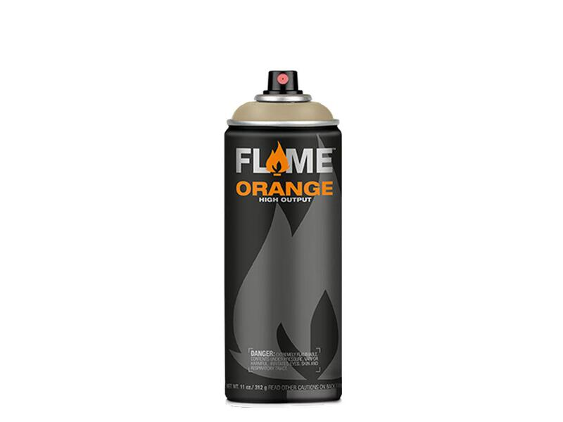 Molotow Flame Orange Spraydose - Farbton graubeige hell