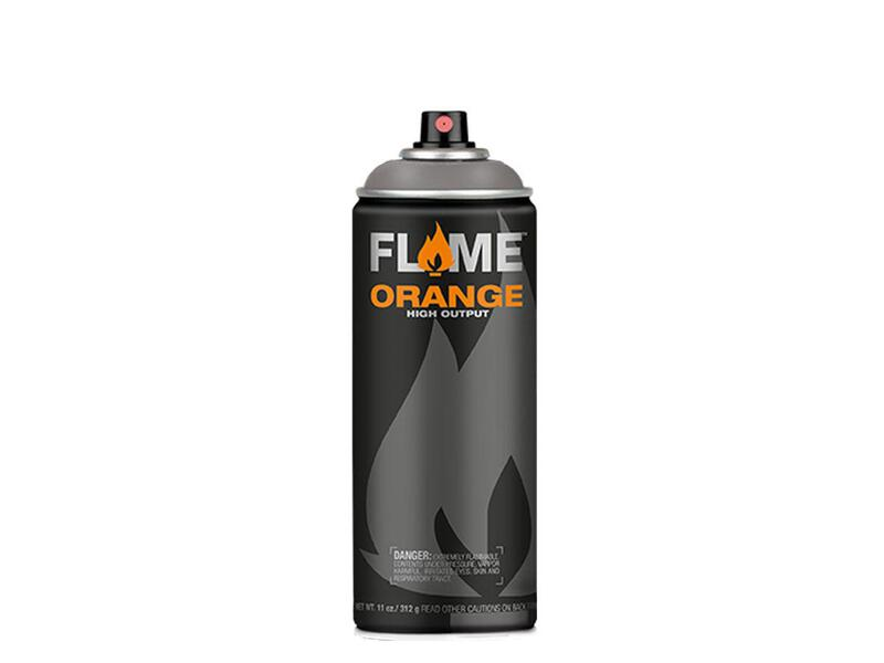 Molotow Flame Orange Spraydose - Farbton dunkelgrau neutral
