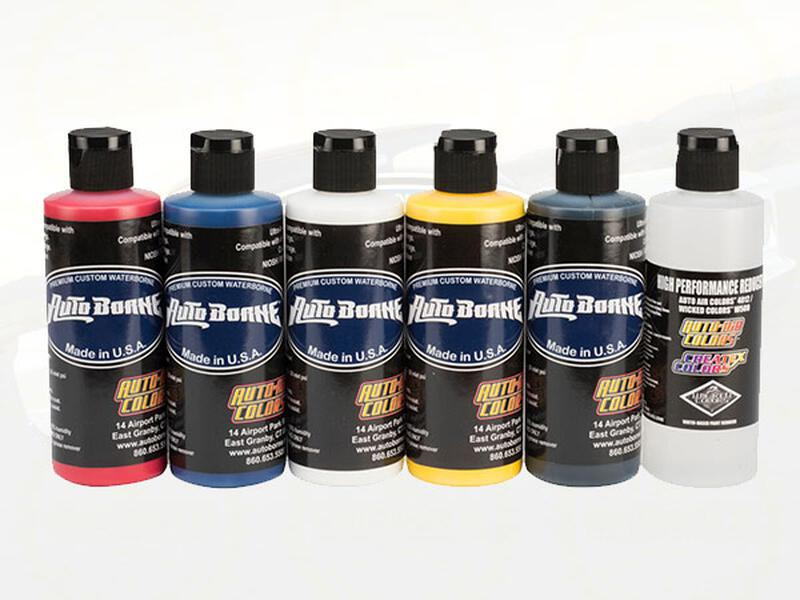Auto Borne - 6100 Primary Sealer Set - 6 x 480 ml