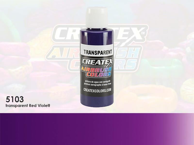 Createx Airbrush Colors im Farbton 5103 Transparent Red Violet