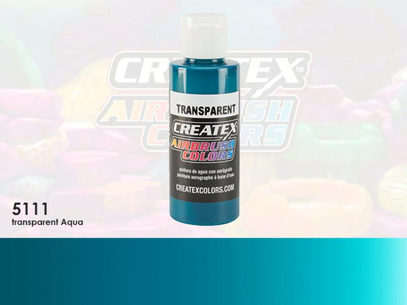 Createx Airbrush Colors im Farbton 5111 Transparent Aqua