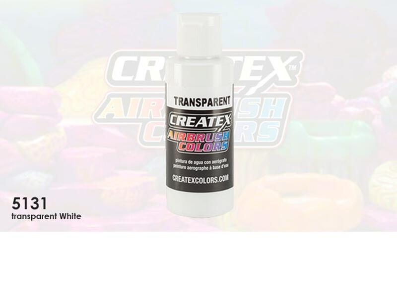 Createx Airbrush Colors im Farbton 5131 Transparent White