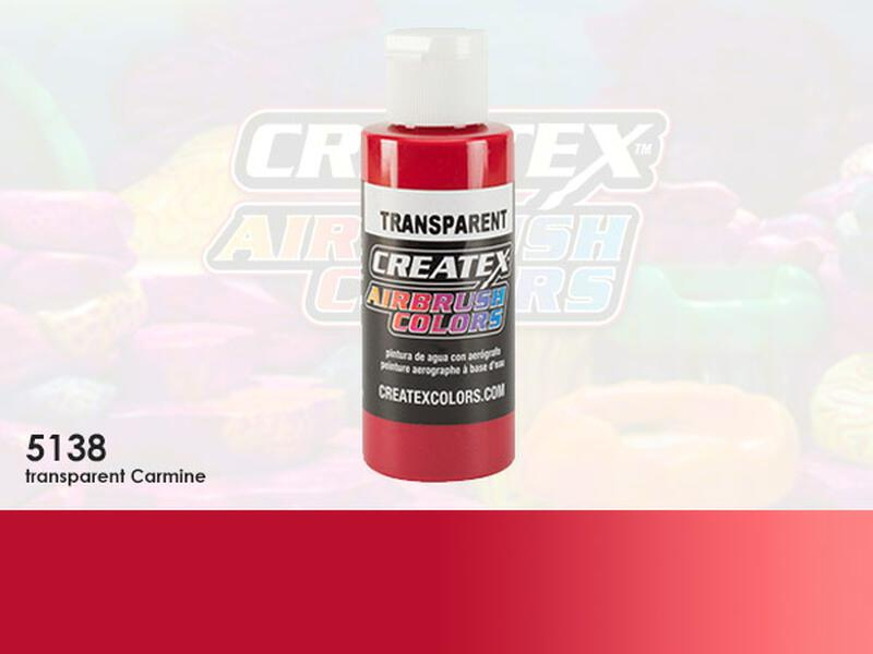 Createx Airbrush Colors im Farbton 5138 Transparent Carmine