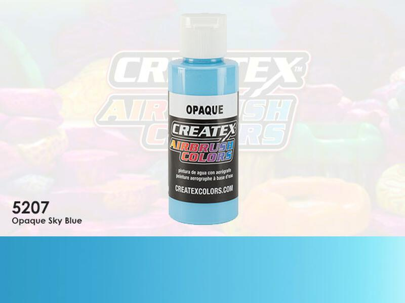 Createx Airbrush Colors im Farbton 5207 Opaque Sky Blue