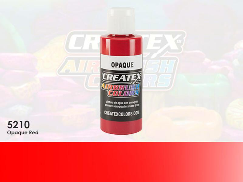 Createx Airbrush Colors im Farbton 5210 Opaque Red