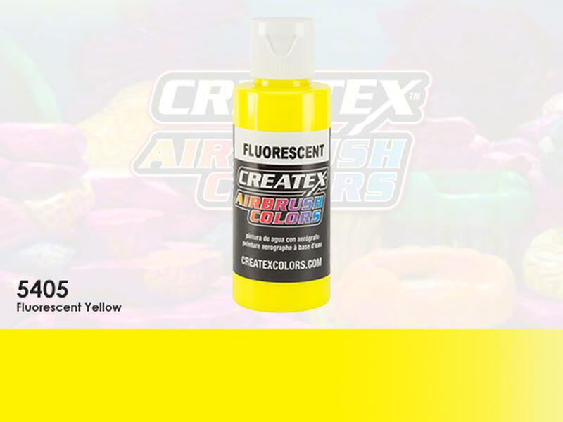 Createx Airbrush Colors im Farbton 5405 Fluorescent Yellow